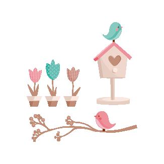 birds scene